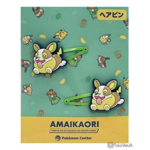 Pokemon Center 2021 Yamper Amaikaori Set Of 2 Hair Clips