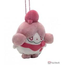 Pokemon Center 2021 Slurpuff Amaikaori Mascot Plush Keychain