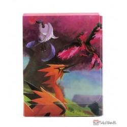 Pokemon Center 2021 Galarian Articuno Moltres Zapdos Card Deck Box Holder