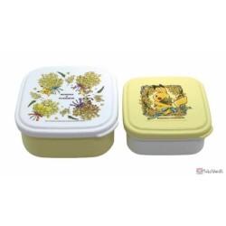 Pokemon Center 2021 Pikachu Mimosa e Pokemon Set Of 2 Food Containers Boxes