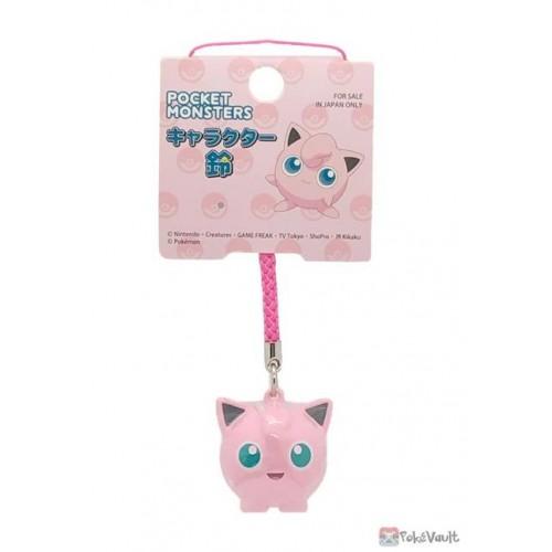 Pokemon 2021 Jigglypuff Mobile Phone Strap Bell Charm
