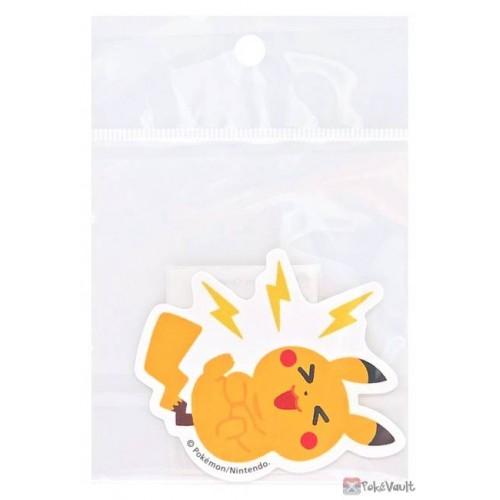 Pokemon Center 2021 Pikachu Pika Pika Friends Large Sticker