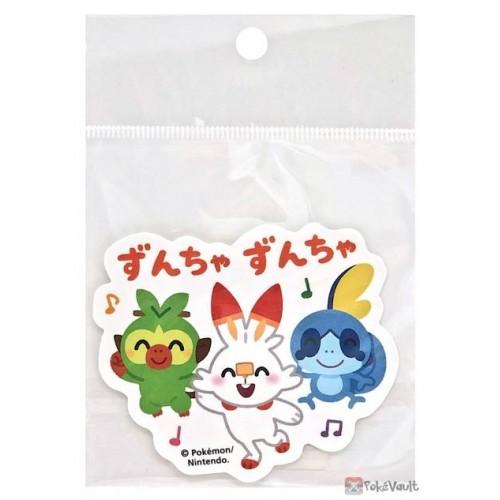 Pokemon Center 2021 Scorbunny Sobble Grookey Pika Pika Friends Large Sticker