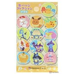 Pokemon Center 2021 Snorlax Munchlax Pika Pika Friends Large Size Metal Button