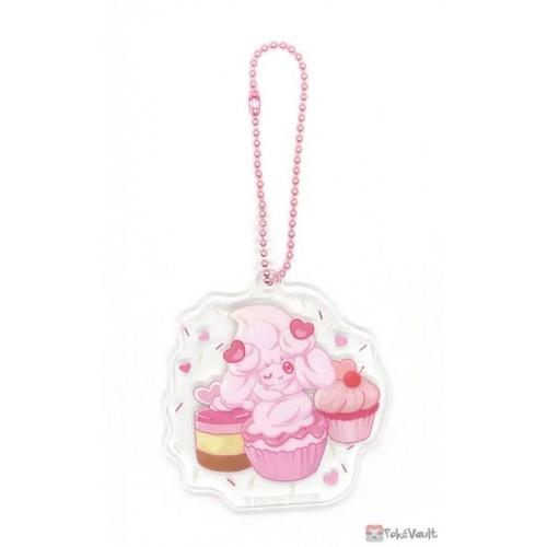 Pokemon Center 2021 Alcremie Mawhip a la Mode Acrylic Keychain Charm (#2 Ruby Cream)