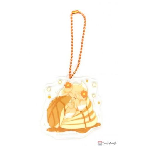 Pokemon Center 2021 Alcremie Mawhip a la Mode Acrylic Keychain Charm (#3 Caramel Swirl)
