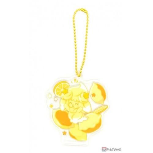 Pokemon Center 2021 Alcremie Mawhip a la Mode Acrylic Keychain Charm (#4 Lemon Cream)