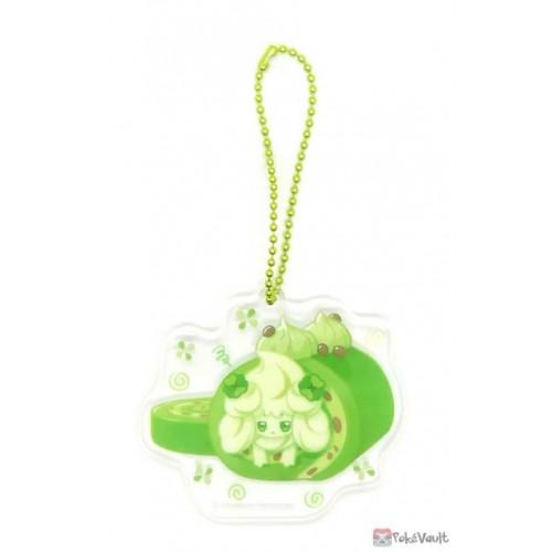 Pokemon Center 2021 Alcremie Mawhip a la Mode Acrylic Keychain Charm (#5 Matcha Cream)