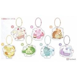 Pokemon Center 2021 Alcremie Mawhip a la Mode Acrylic Keychain Charm (#6 Mint Cream)