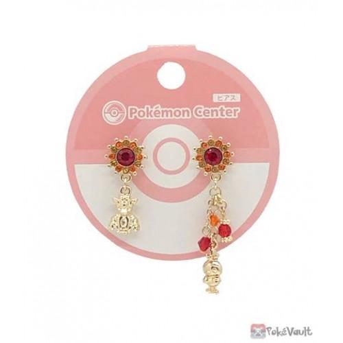 Pokemon Center 2021 Vulpix Torchic Set Of 2 Earrings