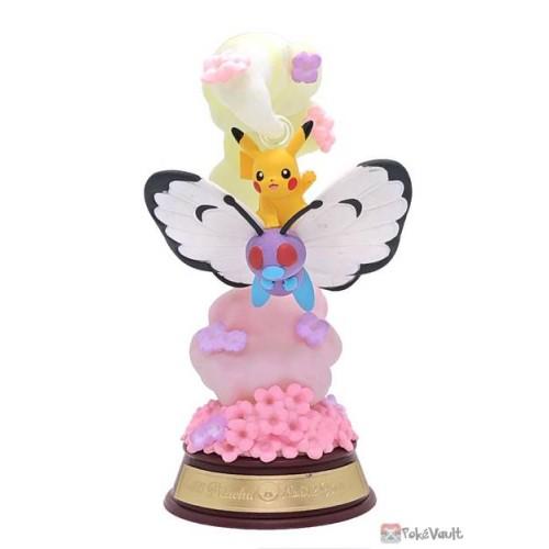 Pokemon 2021 Butterfree Pikachu Re-Ment Swing Vignette Figure #1