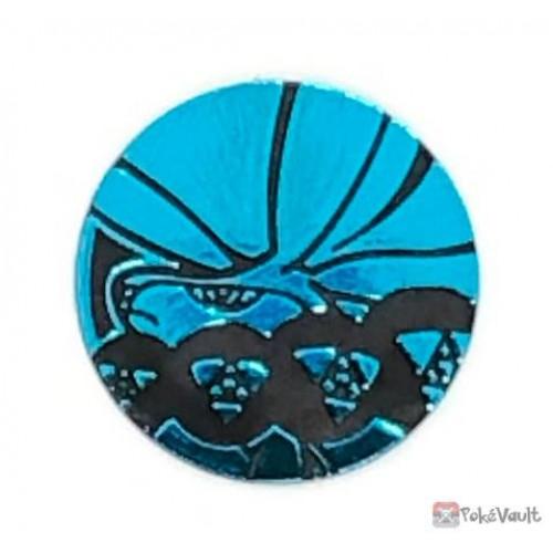 Pokemon Center 2021 Calyrex Silver Lance Jet-Black Spirit Jumbo Pack Coin (Blue Version)