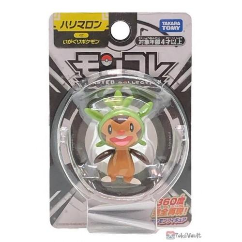Pokemon 2021 Chespin Takara Tomy Monster Collection Figure