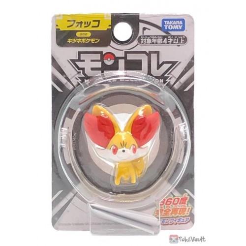 Pokemon 2021 Fennekin Takara Tomy Monster Collection Figure
