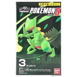 Pokemon 2021 Sceptile Bandai Shodo Figure Series #5
