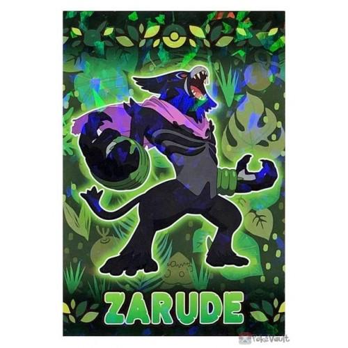 Pokemon 2020 Zarude Coco Movie Series Large Bromide Prism Holo Promo Card #6