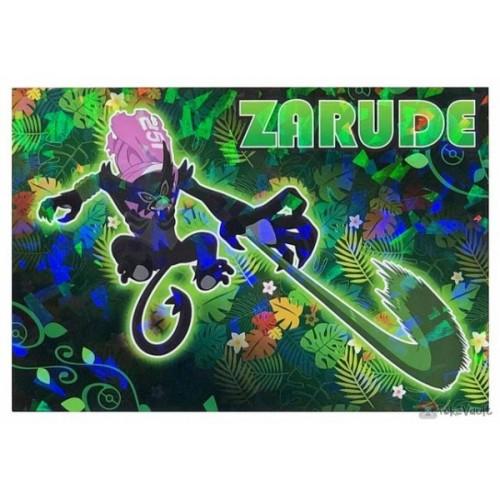 Pokemon 2020 Zarude Coco Movie Series Large Bromide Prism Holo Promo Card #13