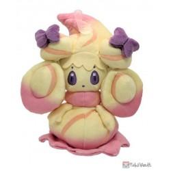 Pokemon 2021 Alcremie (Ruby Swirl Ribbon) San-Ei All Star Collection Plush Toy