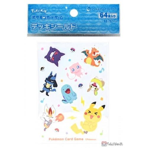 Pokemon Center 2021 Mew Pika Pika Friends Set Of 64 Deck Sleeves