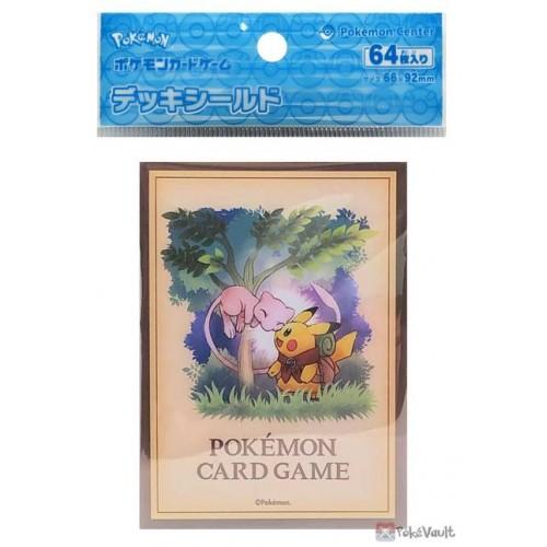 Pokemon Center 2021 Mew Pikachu Adventure Set Of 64 Deck Sleeves