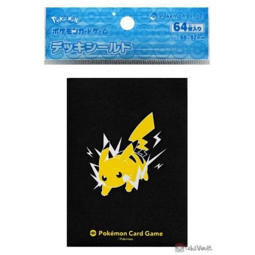 Pokemon Center 2021 Pikachu Set Of 64 Deck Sleeves
