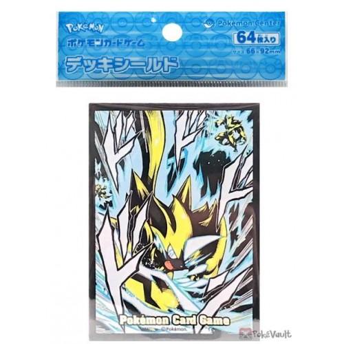 Pokemon Center 2021 Zeraora Set Of 64 Deck Sleeves