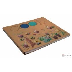 Pokemon Center 2021 Sudowwodo Bulbasaur Grassy Gardening Large Sketch Book