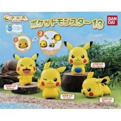 Pokemon 2021 Pikachu Bandai Capchara Vol. 13 Figure #1 Laughing