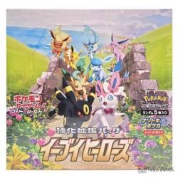 Pokemon 2021 S6A Eevee Heroes Series Booster Box 30 Packs