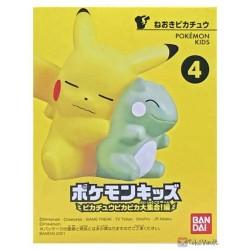 Bandai 2021 Pokemon Kids Pikachu Whimsicott Substitute Pika Pika Large Collection Series Figure #4