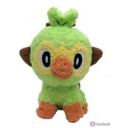 Pokemon 2021 Grookey Sekiguchi Fluffy Plush Toy