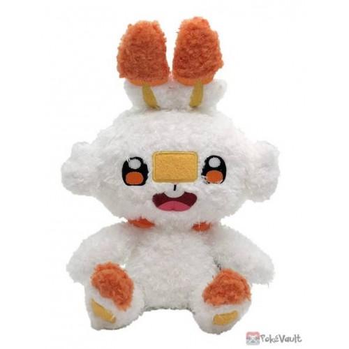 Pokemon 2021 Scorbunny Sekiguchi Fluffy Plush Toy