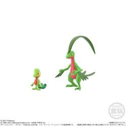 Pokemon 2021 Treecko Grovyle Bandai Pokemon Scale World Hoenn Region Figure