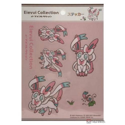Pokemon Center 2021 Sylveon Eevee Collection Sticker Sheet