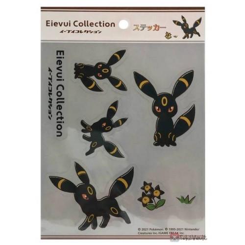 Pokemon Center 2021 Umbreon Eevee Collection Sticker Sheet
