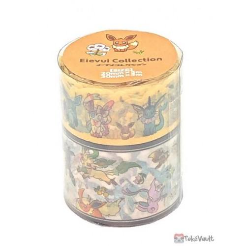Pokemon Center 2021 Eevee Collection Washi Masking Tape