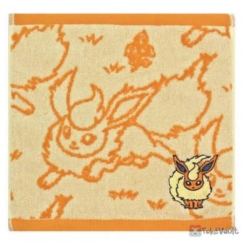 Pokemon Center 2021 Flareon Eevee Collection Mini Hand Towel