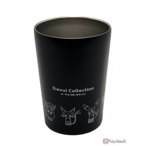 Pokemon Center 2021 Eevee Collection Stainless Steel Tumbler (Black)