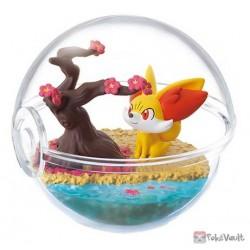 Pokemon 2021 Fennekin Re-Ment Terrarium Change Of Seasons Series #1 Figure