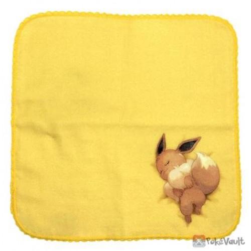 Pokemon Center 2021 Eevee Relaxing Mini Gauze Hand Towel
