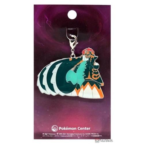 Pokemon Center 2021 Gigantamax Copperajah Metal Charm
