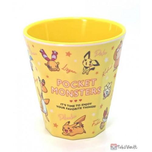 Pokemon 2021 Ampharos Yamper Jirachi Psyduck Plastic Cup (Yellow)
