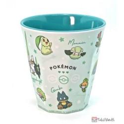 Pokemon 2021 Leafeon Bulbasaur Snorlax Shaymin Plastic Cup (Green)