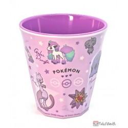 Pokemon 2021 Galarian Ponyta Mewtwo Espeon Gengar Plastic Cup (Purple)