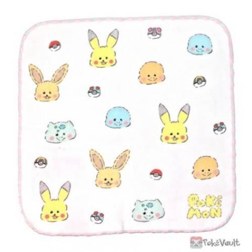 Pokemon Center 2021 Eevee Report Kaitene Mini Hand Towel #1