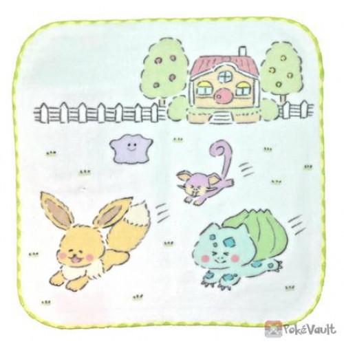 Pokemon Center 2021 Rattata Report Kaitene Mini Hand Towel #2