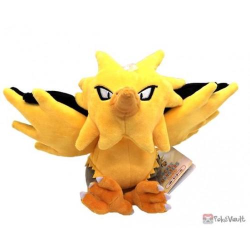 Pokemon 2021 Zapdos San-Ei All Star Collection Plush Toy