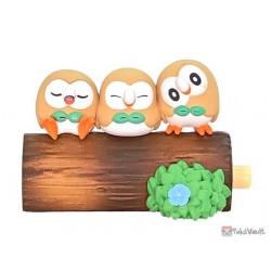 Pokemon 2021 Rowlet Re-Ment Good Friends Tree Figure