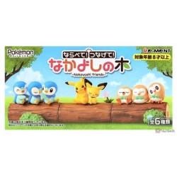 Pokemon 2021 Piplup Re-Ment Good Friends Tree Figure