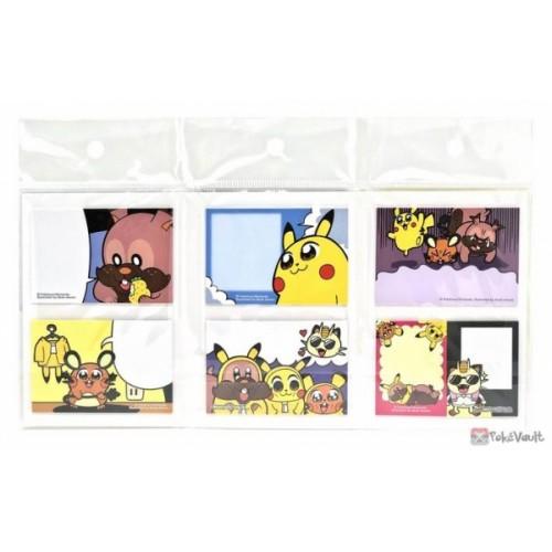 Pokemon Center 2021 New Idol Unit Pikachus Post It Notes #2